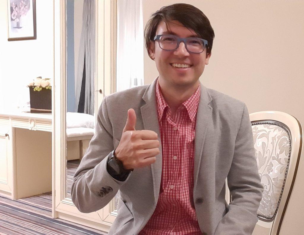 Writer Vlogger Photo Businessman