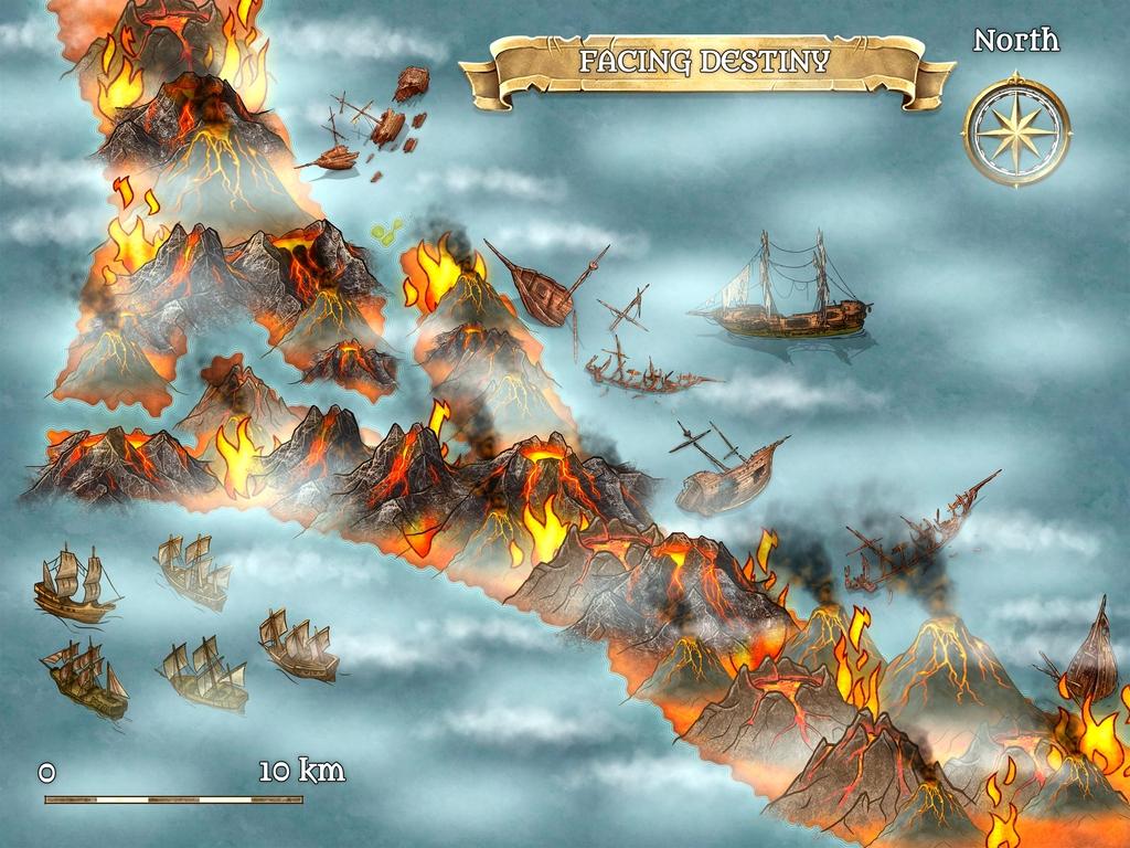 FACING DESTINY - Liviu C Tudose - The survival of a civilization. The ring of fire - www.liviutudose.ro